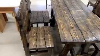 Декоративная мебель из массива дерева2(Изготовление недорогой качественной мебели из массива дерева, металла (ковка), доставка по Москве и Московс..., 2015-04-01T18:39:20.000Z)