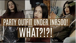 Party Outfits UNDER INR500 From Sarojini Nagar ft. Roshni Bhatia | Komal Pandey