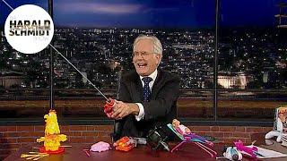 Harald Schmidt testet Spielzeuge für Weihnachten   Die Harald Schmidt Show (SKY)
