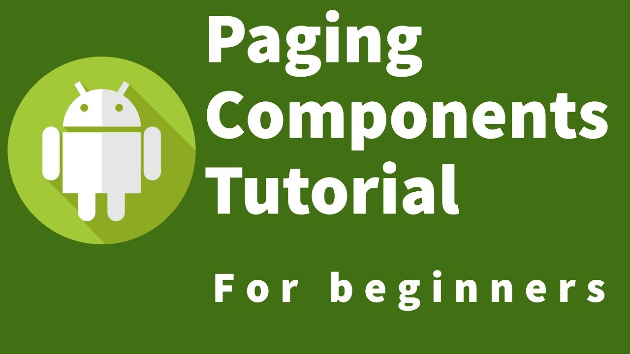 Android Paging Components Tutorial : 6 Create A PagedListAdapter