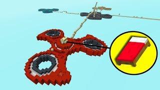 КАРТА ИЗ ОГРОМНЫХ СПИНЕРОВ НА БЕД ВАРСЕ! - (Minecraft Bed Wars)
