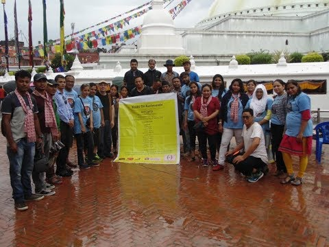 Kashi to Kathmandu art camp  A Cultural Exchange Program