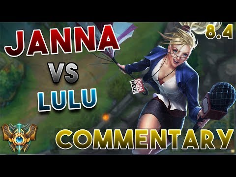 [8.4] Challenger Support Janna Commentary