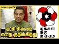 கட்சி சின்னம் எதை குறிக்கிறது : Kamal Hassan Explains the Party Logo of Makkal Needhi Maiam