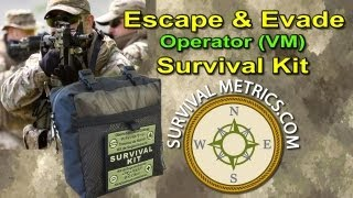 Escape and Evade Operator Military Survival Kit VM