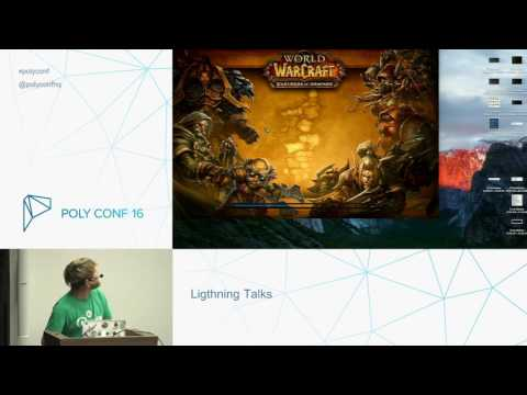 PolyConf 16 / Lighting Talks Session / Day 1