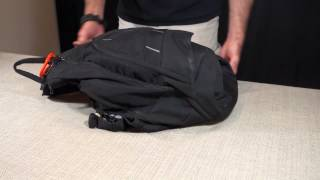 how to handle your edc bag in public setting it down