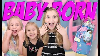 BABY BORN BOTTLE HOUSE PLAYHOUSE!!!