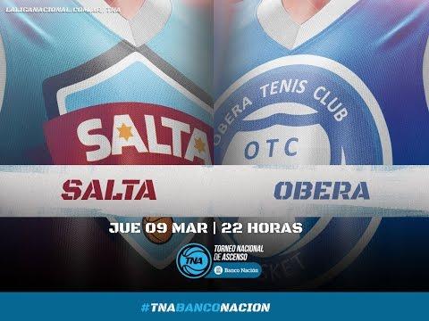 09.03.2017 | Salta Basket vs. Oberá Tenis Club | #LaLigaCadaVezMasGrande