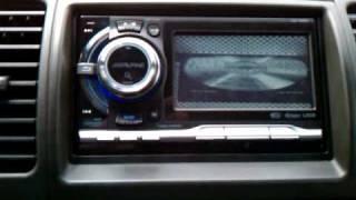 new radio in xterra alpine ixa w404 with video bypass