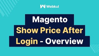 Magento Show Price After Login