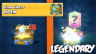 PASTI DAPAT LEGENDARY CARD JIKA BUKA CLAN CHEST LEVEL 10 ? - Clash Royale Indonesia