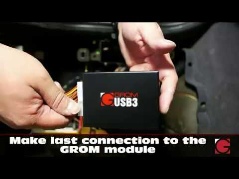 Bmw E38 Dsp Wiring Diagram Conventional Fire Alarm How To Install Converter By Grom Audio For Bluetooth Iphone Android Integration