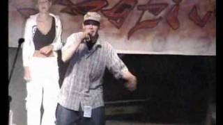 O.s.t.r. - freestyle battle w gizycku  07.08.2004 (part 1)