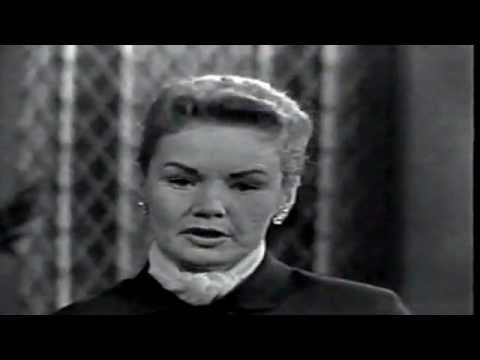 Frances Farmer: This Is Your Life (Part One) (1958)