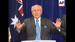 PM John Howard concedes defeat in general election