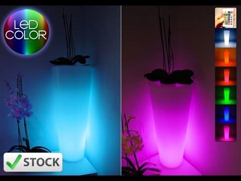 light up vase LED rechargeableGlowing LED flower pot! Remote color changing RGB led flower pot LED & light up vase LED rechargeableGlowing LED flower pot! Remote color ...