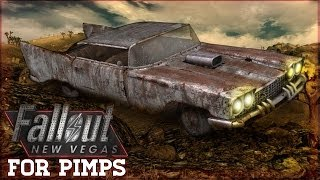 Fallout New Vegas for Pimps - Driveable Cars in Fallout! - 1-07