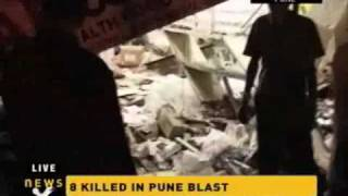 Bomb blast at German Bakery in Pune