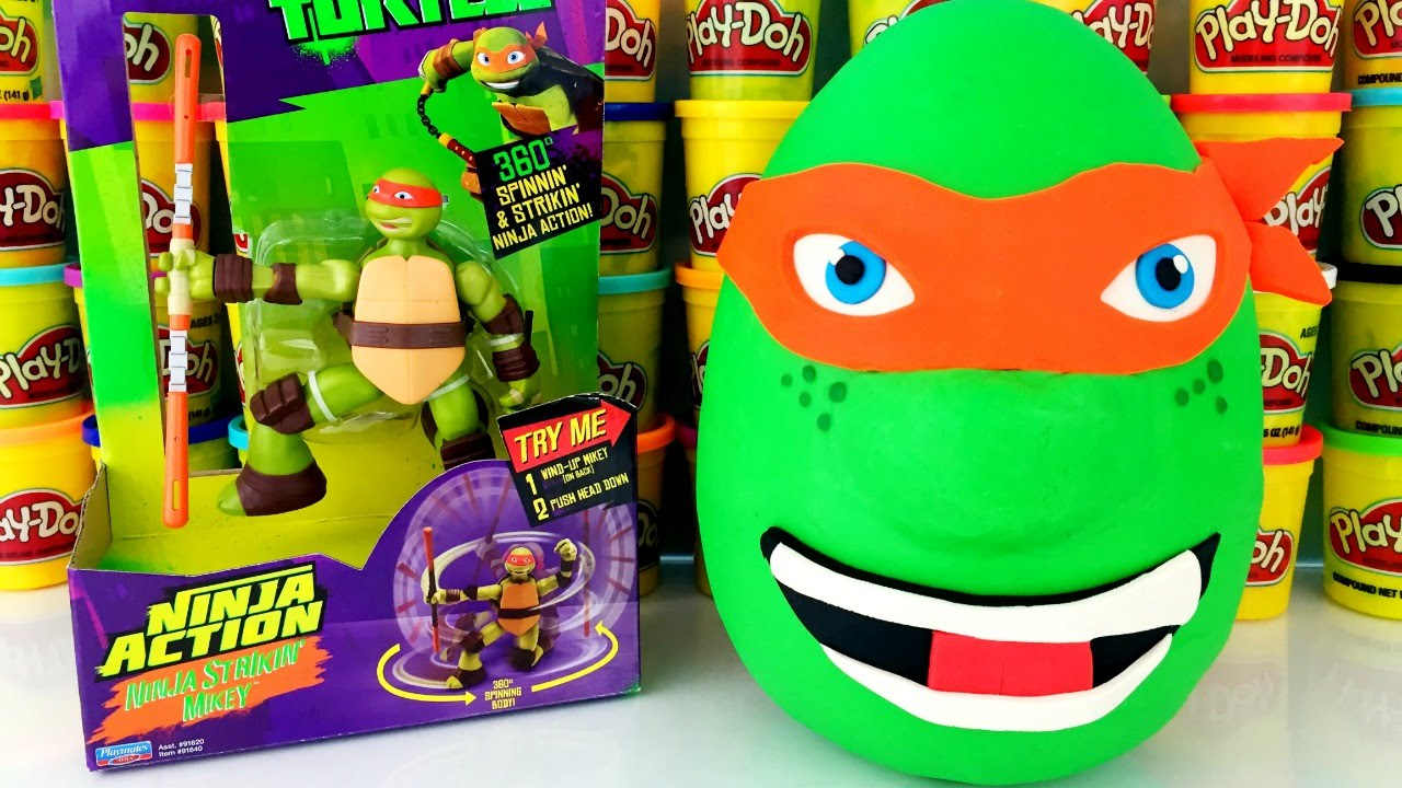 Teenage Mutant Ninja Turtles Michelangelo Play Doh