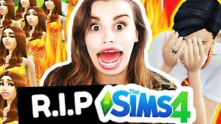 Killing every sim in the world and replacing them with clones of myself... The Sims 4
