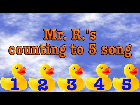 Count to five! A Number Song for Early Learners