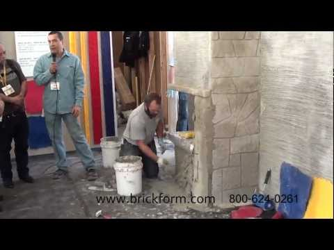 BRICKFORM Vertical Concrete Mix at World of Concrete 2013