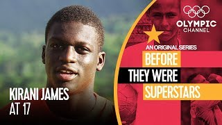 A Young Kirani James Ahead of Olympic Gold | Before They Were Superstars