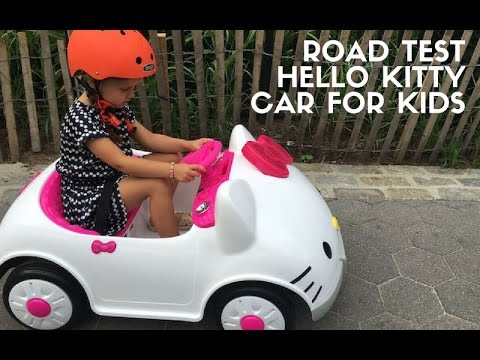 hello kitty car for kids review