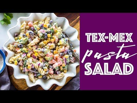 Creamy Tex-Mex Pasta Salad
