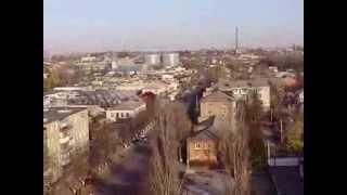 Александрия с крыш   2(Александрия, Кировоградская область, Украина Вид города с крыши общежития