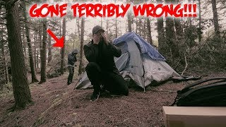 (GONE WRONG) CHASED OFF A DESERTED ISLAND BY BLOOD SUCKING CREATURES CAUGHT ON CAMERA!