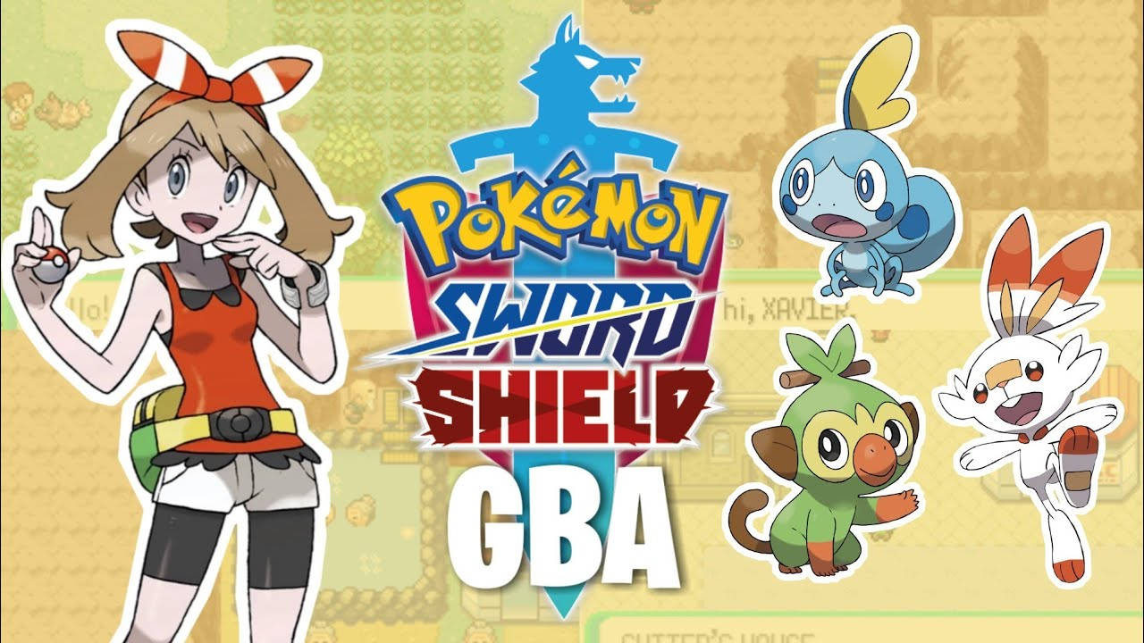 Pokemon Sword And Shield Gba Rom Hack 2019 With Scorbunny Grookey