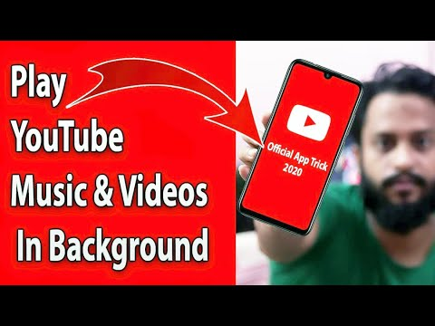 Play YouTube Videos In Background With Official App 2021 (100% Working Trick)