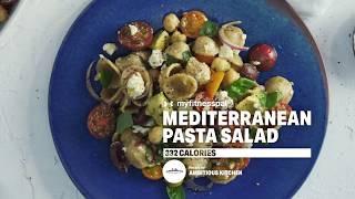 Under Armour Mediterranean Pasta Salad