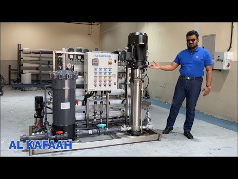 Marine Watermaker Seawater RO System for Ships & Offshore Rigs | Dubai | www.alkafaahwater.com