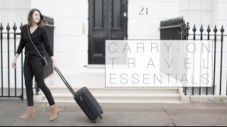 10 Travel Essentials | The Anna Edit