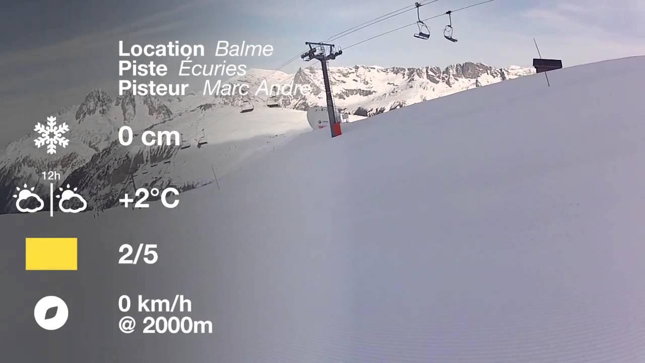 Alpine skiing @ cervinia, italy