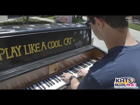 Why Are There Pianos At College Of The Canyons?  - KHTS News - Santa Clarita
