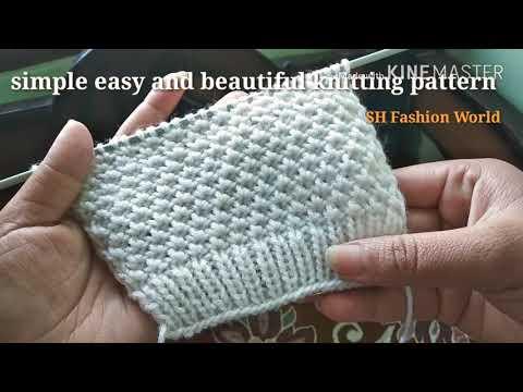 9f0e6f383 Knitting Pattern 191   बुनाई डिज़ाइन 191 - YouTube