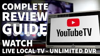 YouTube TV Review Live Guide and Local Channels - YouTube TV Channel Lineup and DVR Features screenshot 2