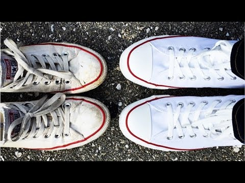 Jak Wyczyscic Biale Buty How To Clean White Shoes Youtube