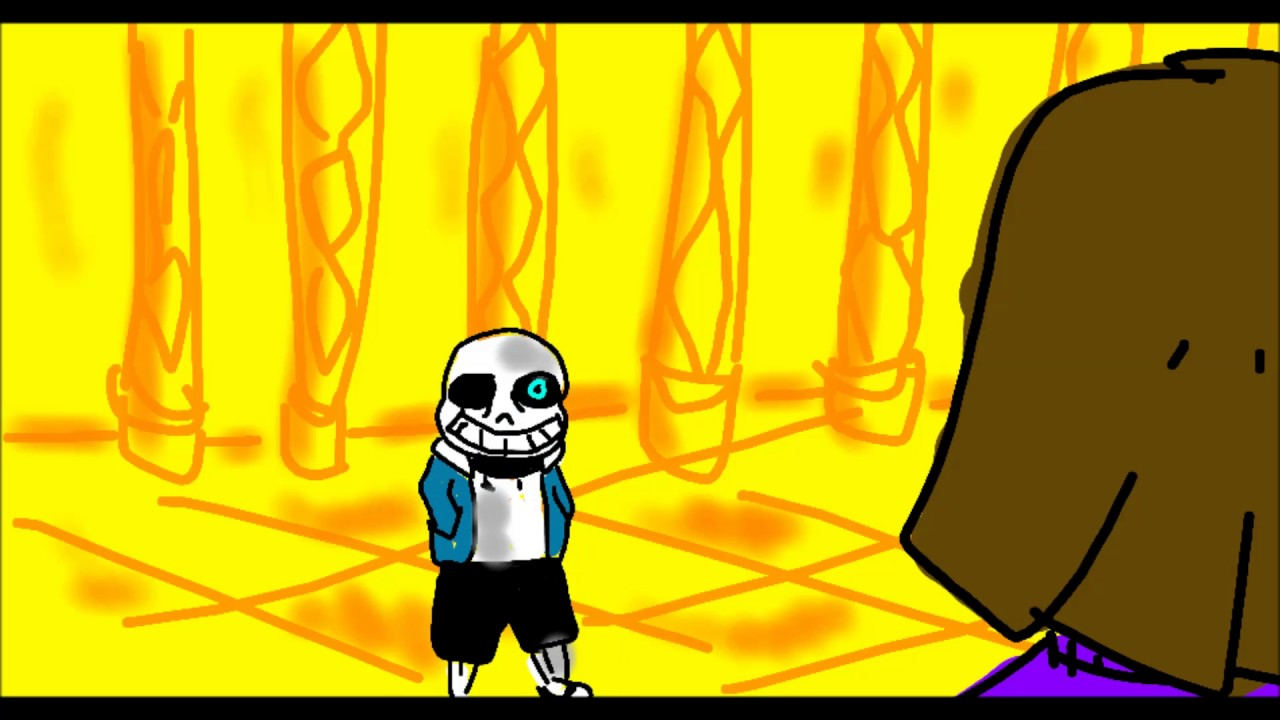 Download UNFINISHED Undertale sans battle animation