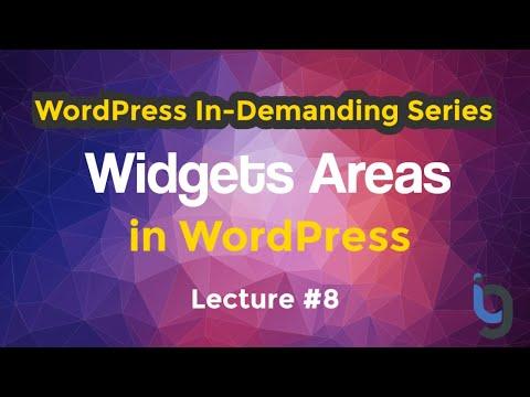 8. Widgets in WordPress Urdu/Hindi - WordPress Series by IG