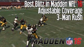 Video Best Blitz in Madden 16 Tips - B Gap Nano Blitz - 3 Man Rush! download MP3, 3GP, MP4, WEBM, AVI, FLV Juli 2018