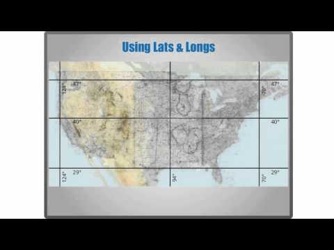 Sectional Charts - Latitude and Longitude