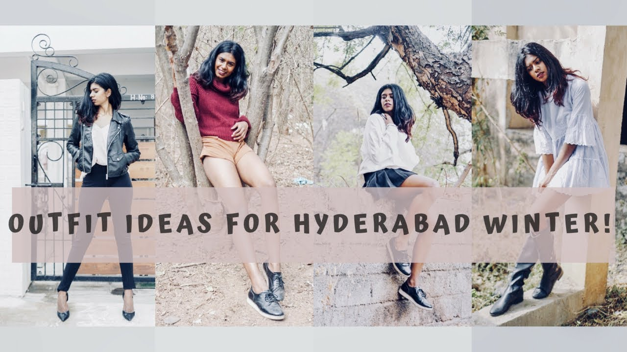 How To Style WINTER OUTFITS In HYDERABAD| WARM WINTER OUTFIT IDEAS|