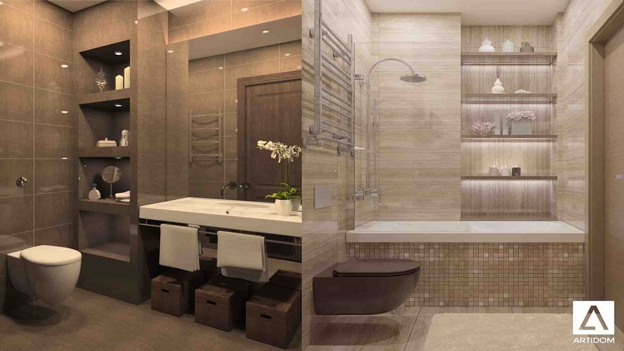 Top 100 Small Bathrooms Design Ideas 2020 Youtube