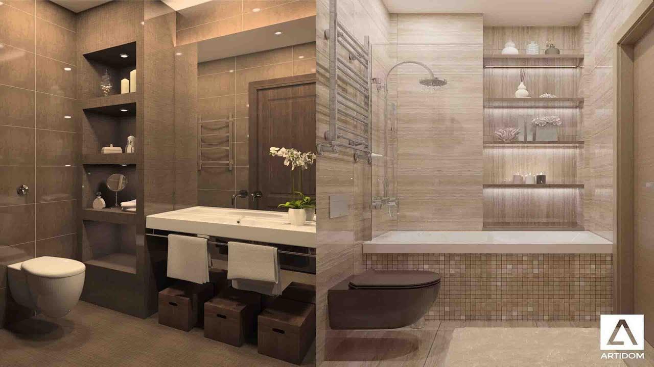 Top 100 Small bathrooms design ideas 2021 - YouTube