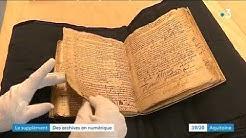 Archives de Bordeaux : numérisation de 300 ans de registres paroissiaux